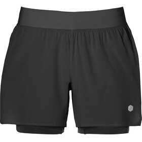 asics 2-N-1 5.5In Shorts Women Performance Black
